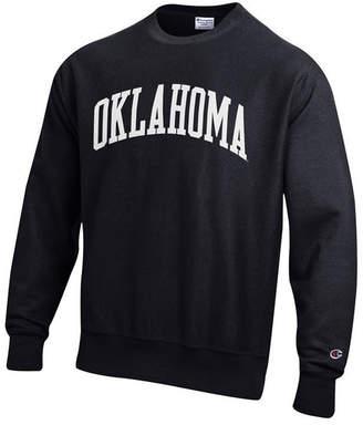 Champion Men's Oklahoma Sooners Reverse Weave Crew Sweatshirt