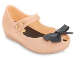 Girl's Bow Mary Janes $55 thestylecure.com