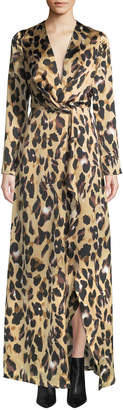 STYLEKEEPERS The Enriched Leopard Print Maxi Dress