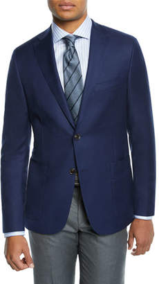 Hickey Freeman Men's Tasmanian Solid Sport Coat