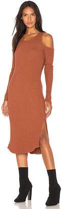 Monrow Cold Shoulder Dress