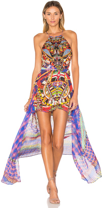 Camilla Sheer Overlay Dress $700 thestylecure.com