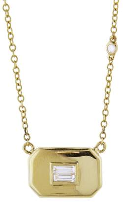 SHAY Essential Baguette Diamond Necklace