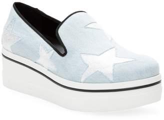 Stella McCartney Women's Denim Platform Sneaker