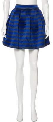 Alice + Olivia Pleated Mini Skirt w/ Tags