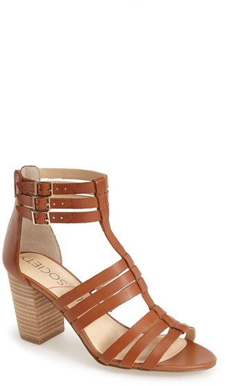 Women's Sole Society 'Elise' Gladiator Sandal