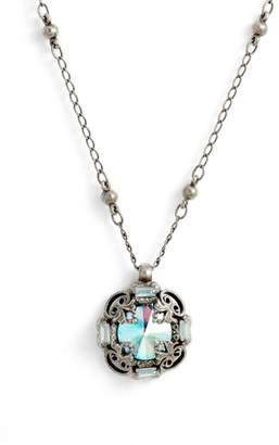 Sorrelli Allium Crystal Necklace