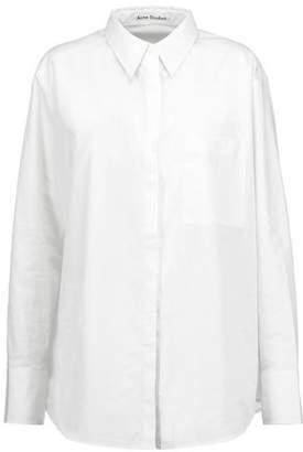 Acne Studios Addle Pop Cotton-Poplin Shirt