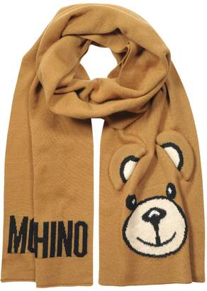 Moschino Teddy Bear Ears Scarf