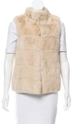 Charlotte Brody Rex Rabbit Fur Vest