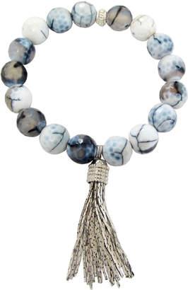 Dripping In Gems Fringe Tassel Bracelet Collection