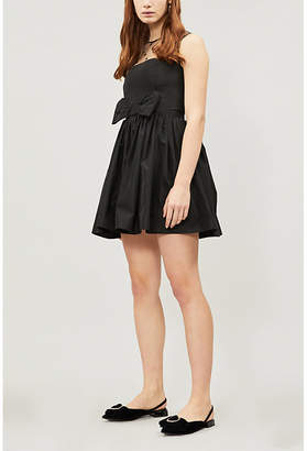 Claudie Pierlot Ralli fit-and-flare shell dress