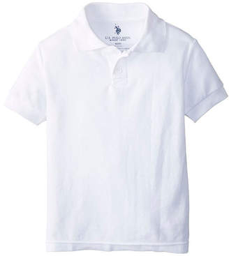 U.S. Polo Assn. USPA Short-Sleeve School Uniform Polo - Toddler Boys 2t-4t