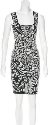RVN Patterned Mini Dress