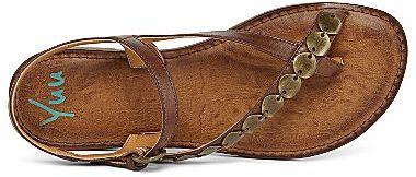 JCPenney YuuTM Caralin Embellished Toe-Loop Flat Sandals
