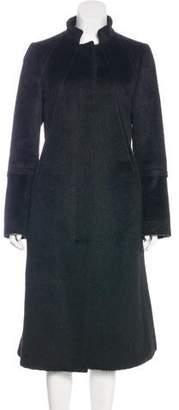 Gucci Textured Long Coat