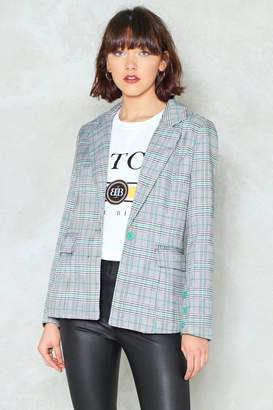 Nasty Gal Cash That Check Blazer