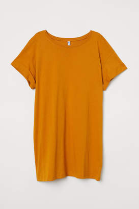 H&M Long T-shirt - Yellow