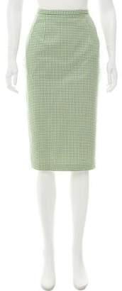 Michael Kors Gingham Pencil Skirt w/ Tags