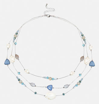Avenue Mixed Blue Illusion Necklace