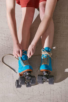 Urban Outfitters Moxi Exclusive Suede Roller Skates
