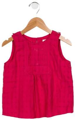 Burberry Girls' Sleeveless Crew Neck Top pink Girls' Sleeveless Crew Neck Top