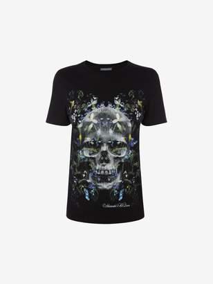 Alexander McQueen Dark Ophelia Skull T-Shirt