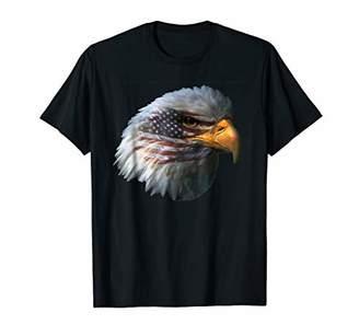 Patriot Eagle Shirt USA Flag Eagle Hawk American T Shirt