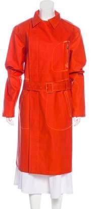 Salvatore Ferragamo Long Rain Coat w/ Tags