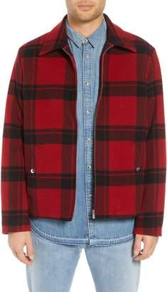 The Kooples Classic Fit Plaid Wool Trapper Jacket