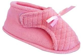 Muk Luks Women's Microchenille Front Flap Slipper Boot