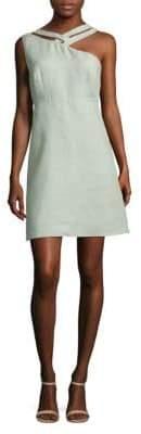 Valentino Cutout Woven Dress