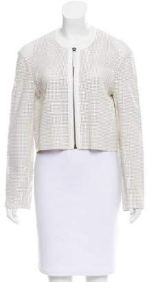 Helmut Lang Leather Cutout Jacket