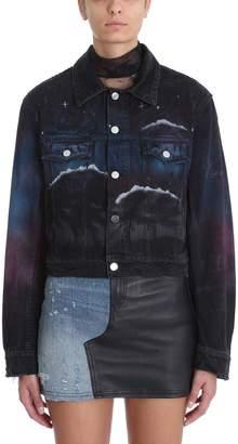 Amiri Black Denim Jacket