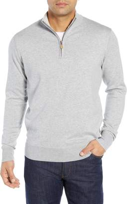 Peter Millar Crown Quarter Zip Sweater