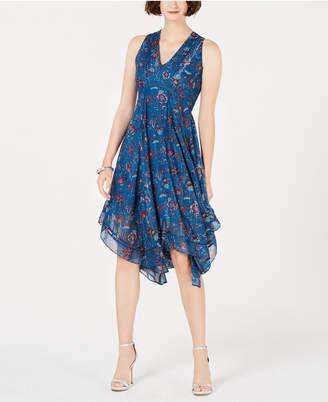 Taylor Floral Chiffon A-Line Dress