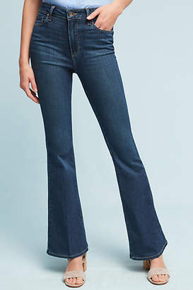 Paige Bell Canyon High-Rise Flare Petite Jeans