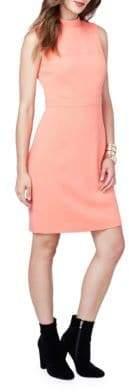 Rachel Roy Mockneck Sleeveless Sheath Dress
