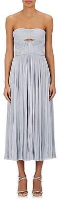 J. Mendel Women's Silk Pleated Strapless Gown