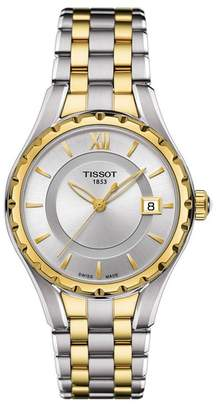 Tissot Women's T-Lady T072 Two-Tone Watch, 34mm