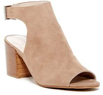 Kenneth Cole New York Val Suede Block Heel Sandal