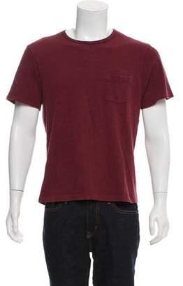 Rag & Bone Crew-Neck Pocket T-Shirt