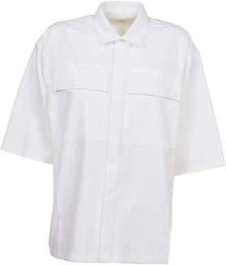 Jil Sander Flap Pocket Short Sleeve Shirt
