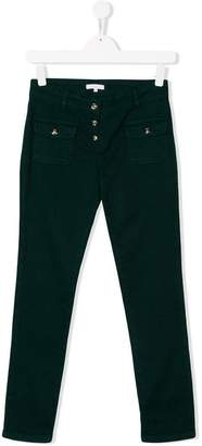 Chloé Kids slim fit jeans