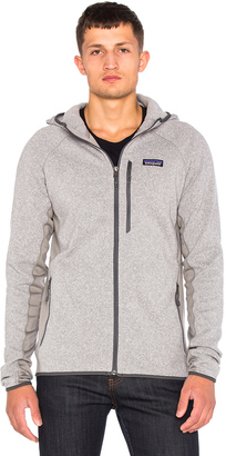 Patagonia Performance Better Sweater Hoody $159 thestylecure.com