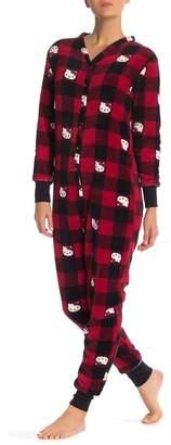 Hello Kitty Plush Union Pajama Suit