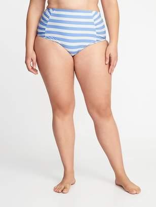 Old Navy High-Rise Secret-Slim Plus-Size Swim Bottoms