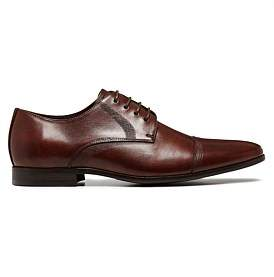 Marlow Julius Jaded Expand Rubber Sole Derby With Cap Toe