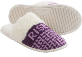 Life is good® Houndstooth Scuff Slippers (For Women) $12.99 thestylecure.com