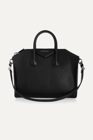 Givenchy - Medium Antigona Bag In Black Leather